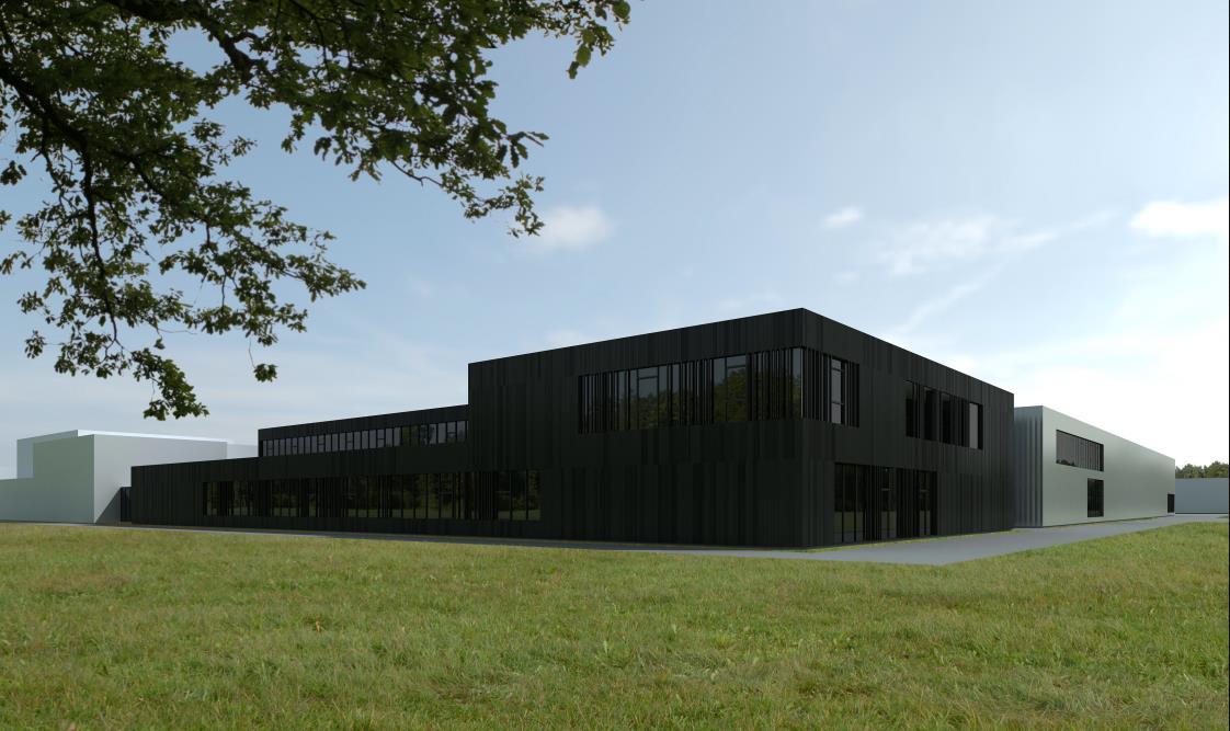 Neubau Produktion 1 +2, Neubau Hochregallager IV