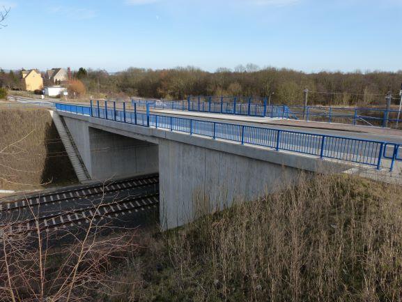L 20 - Ersatzneubau der Brücke über die DB AG in Vollrathsruhe